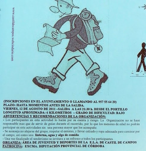 -Del 1 al 6 de agosto ha tenido lugar en Castil de Campos la X Semana  Joven, éste año marcada por la austeridad, debido a los tiempos de crisis  que corren, ...